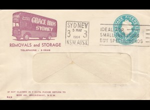 Australia: 1964: Sydney - Removals and Storage