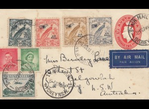 New Guinea 1938: Air Mail Rabaul - Sydney