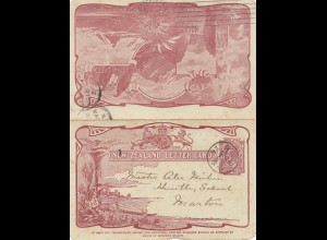 New Zealand: Letter card