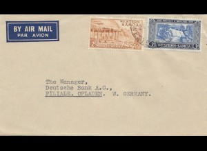 Samoa: Air Mail to Germany