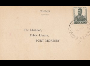 Papua New Guinea 1956 to ort Moresby