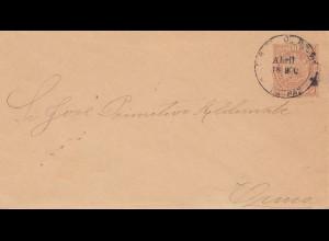 Bolivia/Bolivien: 1890: cover La Paz