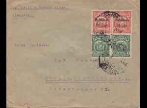 Bolivia/Bolivien: 1924: Cochabamba to Berlin