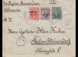 Bolivia/Bolivien Cochabamba 1912 to Berlin