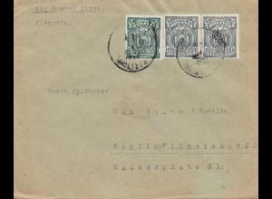 Bolivia/Bolivien: cover 1928 Cochabamba via Buenos Aires to Germany/Berlin