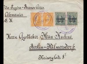 Bolivia: 1913: Cochabamba to Berlin