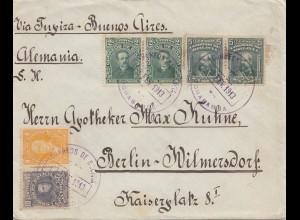 Bolivia/Bolivien: Cochabamba to Berlin/Germany 1913