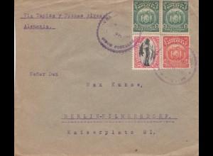 Bolivia/Bolivien: Cochabamba via Tupiza and Buenos Aires to Berlin