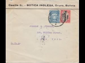 Bolivia/Bolivien: Oruro to New York