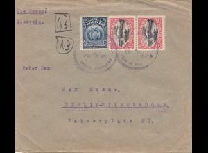 Bolivia: 1922 Cochabamba to Berlin/Germany
