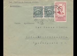 Bolivia/Bolivien: Cochabamba via Tupiza-Buenos Aires to Berlin/Germany