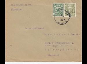 Bolivien: 1929 Cochabamba to Berlin/Germany
