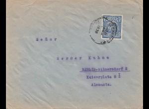 Bolivia/Bolivien: 1920 cover Cochabamba via Tupiza -Buenos Aires to Berlin