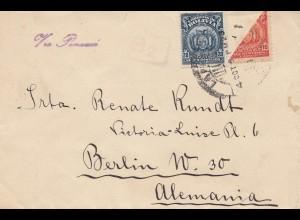 Bolivia/Bolivien: 1923: La Paz ti Berlin