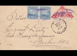 Bolivia/Bolivien: 1931: Potosi to Berlin via Uyuni