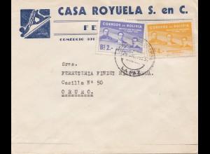 Bolivia/Bolivien: 1953: Lapaz to Oruro