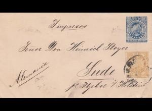 Bolivia/Bolivien: 1897: letter to Sude/Itzehohe