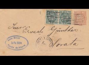 Bolivia/Bolivien: 1893: La Paz to Sorata
