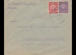 Bolivien: Cochabamba 1924 via Buenos Aires to Berlin/Germany