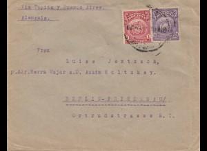 Bolivia/Bolivien: 1924 Cochabamba via Buenos Aires to Berlin cover