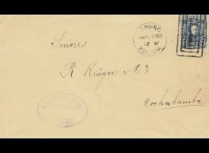 Bolivia/Bolivien: 1905: Oruro