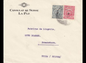 Bolivia/Bolivien: Consulat de Suisse, La Paz