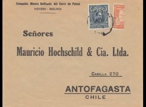 Bolivia/Bolivien: 1938: Potosi to Antofagasta