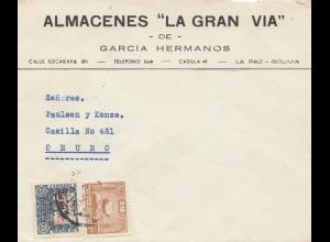 Bolivia/Bolivien: 1949: La Paz to Oruro