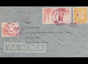 Bolivia/Bolivien: 1938: La Paz to Antofagasta/Chile