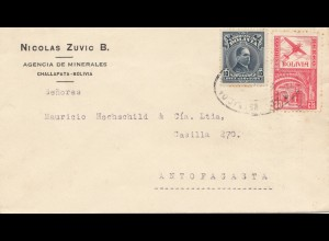Bolivia/Bolivien: 1938: Challapata to Antofagasta