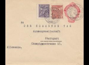 Brazil: 1923: Rio to Stuttgart - Der kommende Tag AG