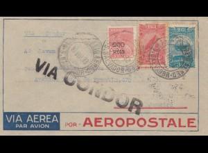 Brazil: 1933 via Condor to Rio