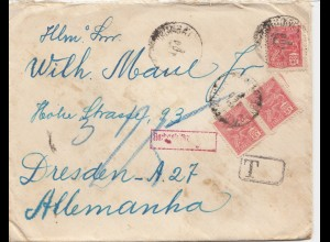 Brazil: cover Corumba with Tax to Germany/Dresden