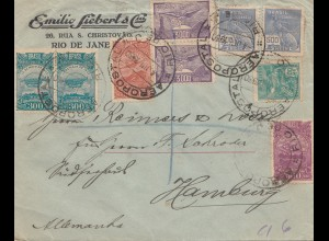 Brazil: 1920: Rio des Janeiro to Hamburg