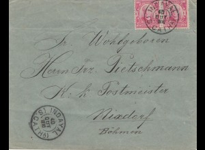 Brazil: 1910: Indayal to Nixdorf/Böhmen