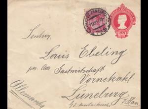 Brazil: 1911: Rio de Janeiro to Lüneburg