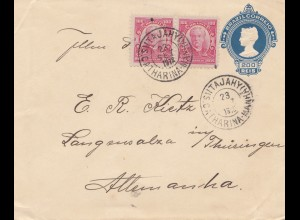 Brazil: 1918: cover to Langensalza/Germany
