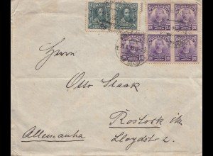 Brazil: Cover to Rostock/Germany