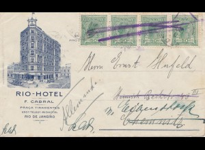 Brazil: cover from Rio-Hotel to Chemnitz