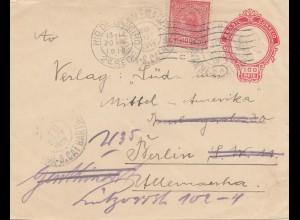 Brazil: 1919: Rio de Janeiro - Berlin