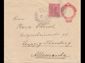 Brazil: 1890 Sao Paolo to Leipzig