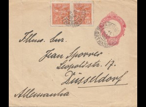 Brazil: 1923: cover to Düsseldorf