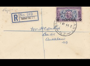 New Zealand 1944: Registered Auckland