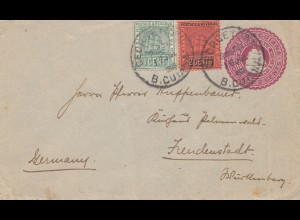 British Guiana 1903: letter to Freudenstadt