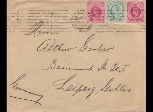 Natal: letter to Leipzig/Germany