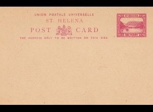 St. Helena: post card - unused