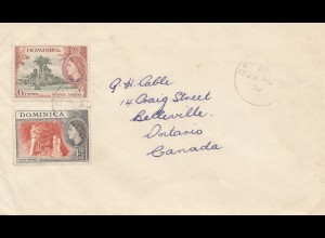 Dominica: 1959: letter to Canada