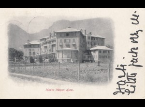 cape of good hope: 1905: post card Mount Nelson Hotel to England