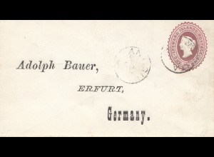 Leeward Islands: 1898 letter to Erfurt