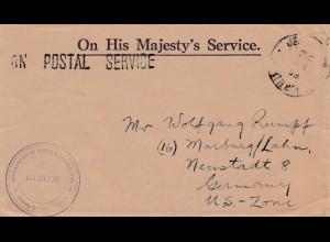 British North Borneo: Jesselton to Neustadt about 1946-1949